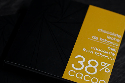 TABLETA DE CHOCOLATE 38% - [Envíos a todo México