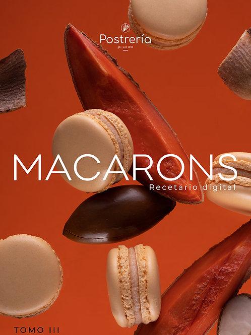 RECETARIO - Tomo 3 - Macarons