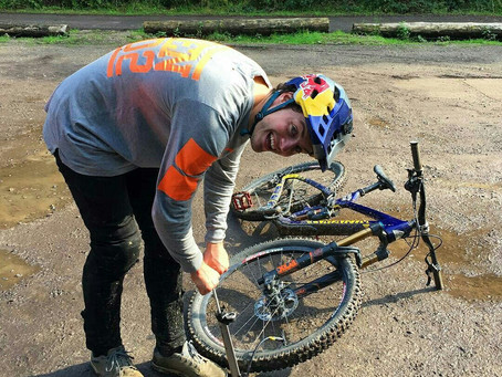 Мэтт Джонс выбирает велонасос Morph от Topeak!