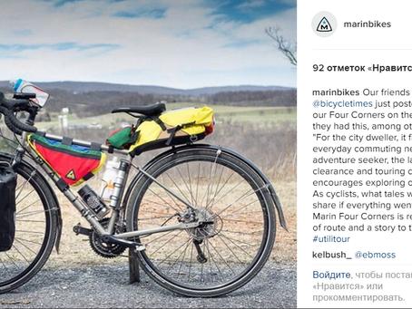 Four Corners: отзыв от Bicycle Times