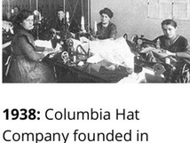 Columbia, eine bewährte Marke in der Bekleidungsbranche.