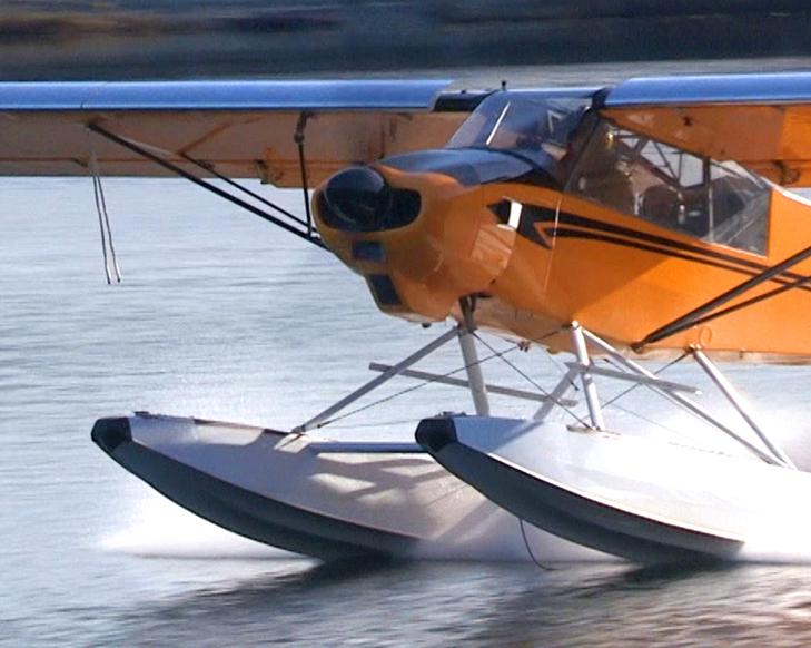 Backcountry Cub Take-off