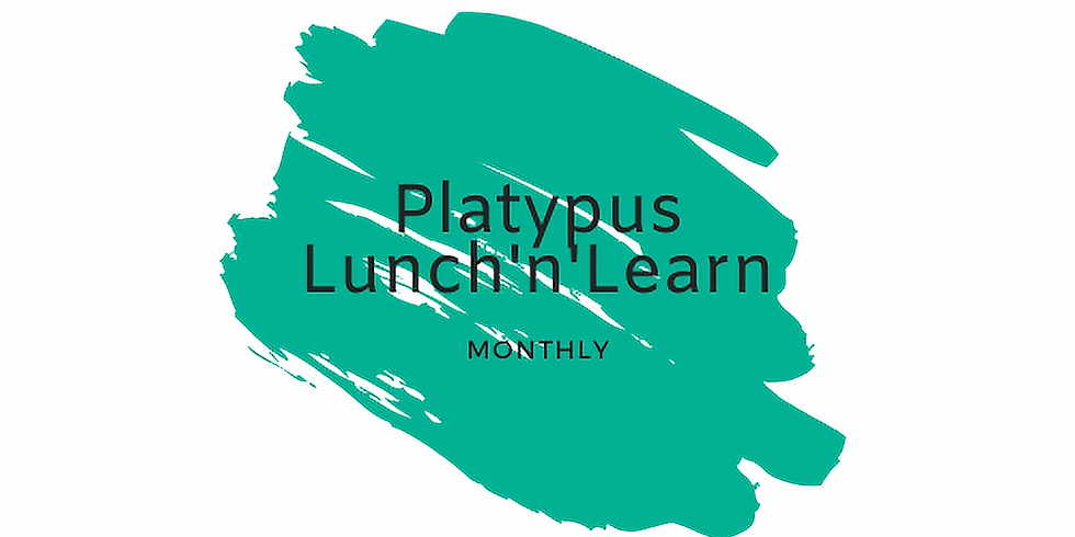Platypus Lunch'n'Learn 2021