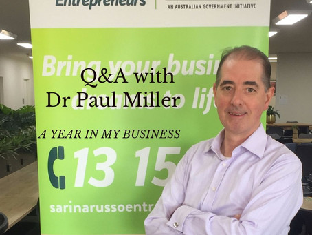 A Year in My Business - Dr. Paul Miller