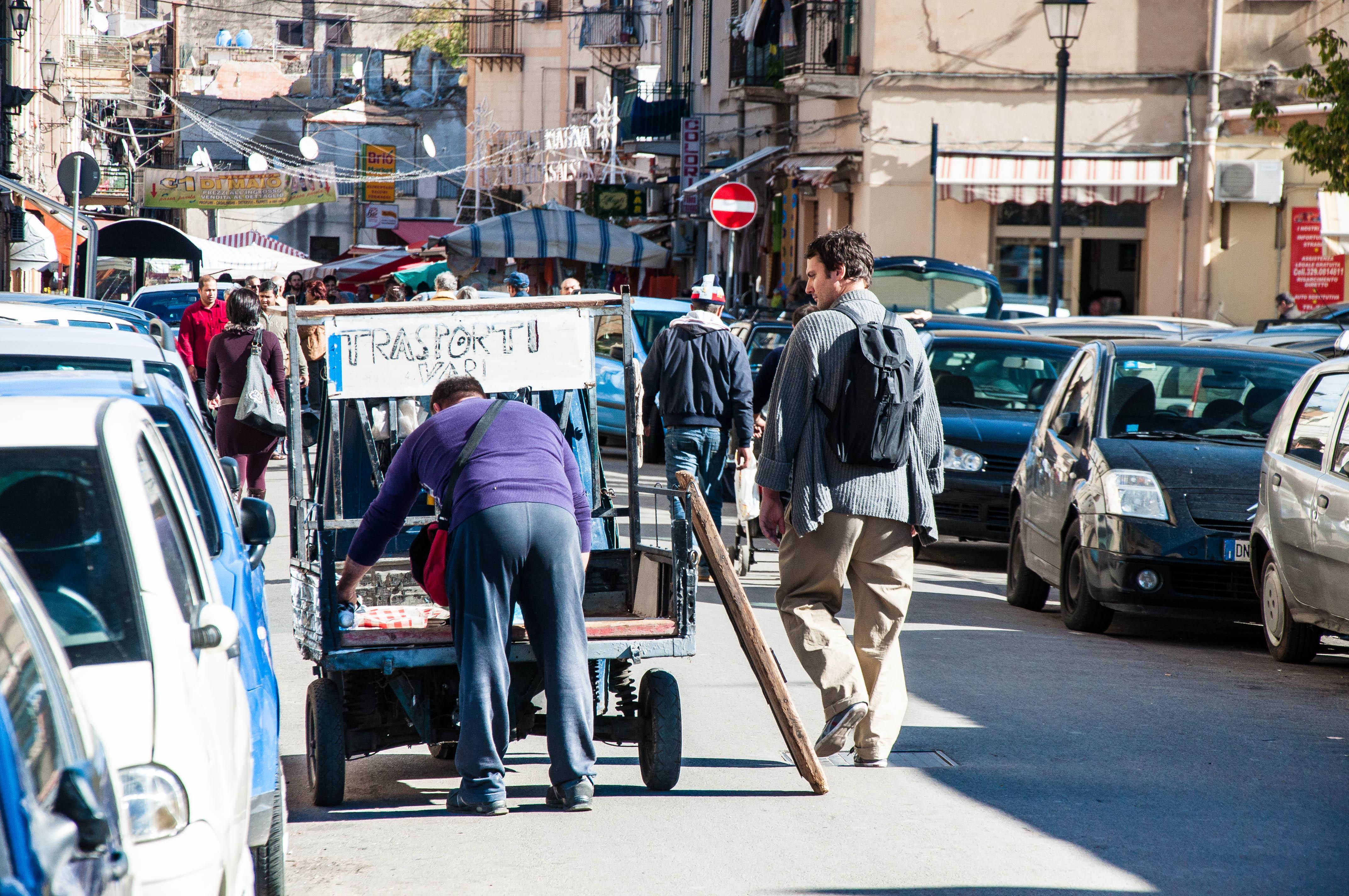 Flickr - Transport, Ballarò market, Palermo, Sicily