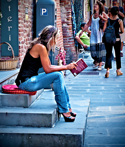 The quite reader