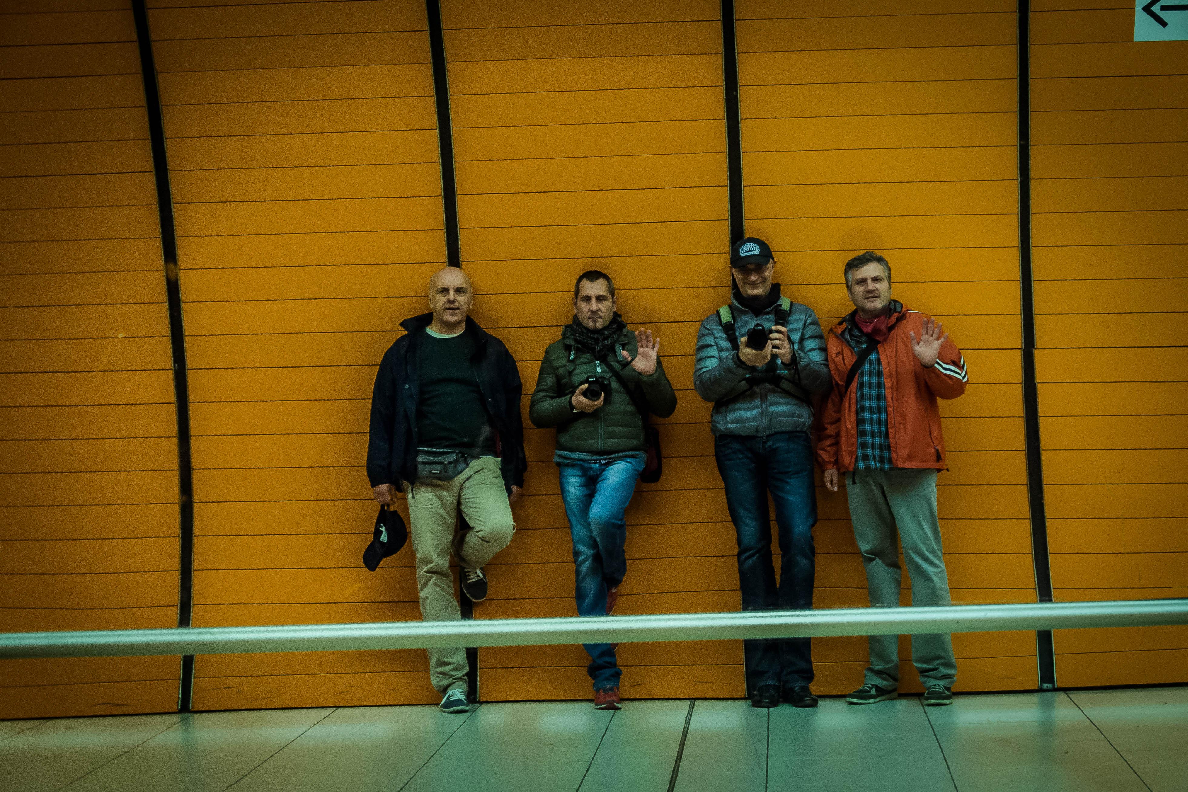 Flickr - Uomini di un gruppo musicale mai esistito,ma sarebbe la nostra copertin