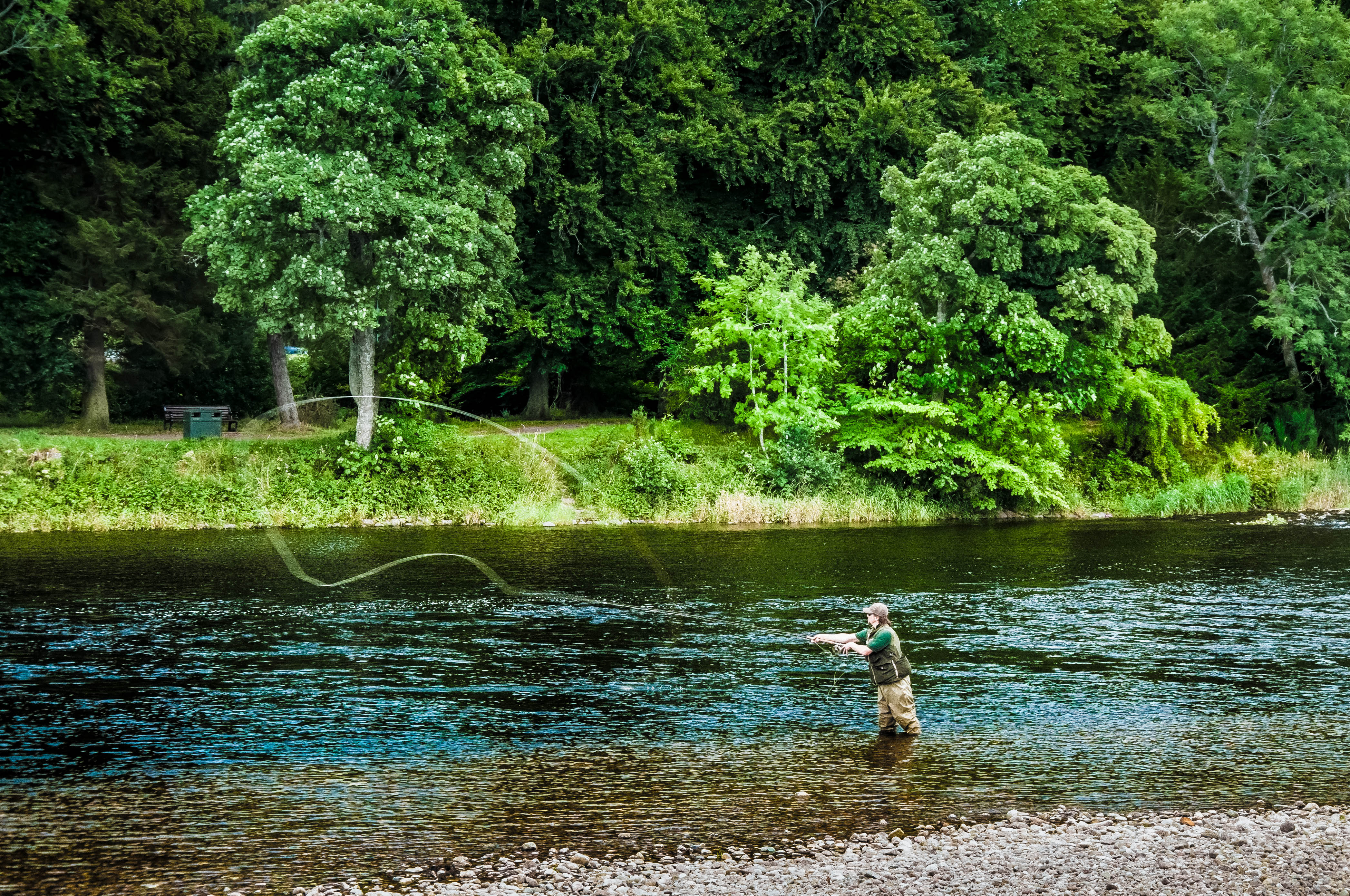 Flickr - Fishing man in the Ness