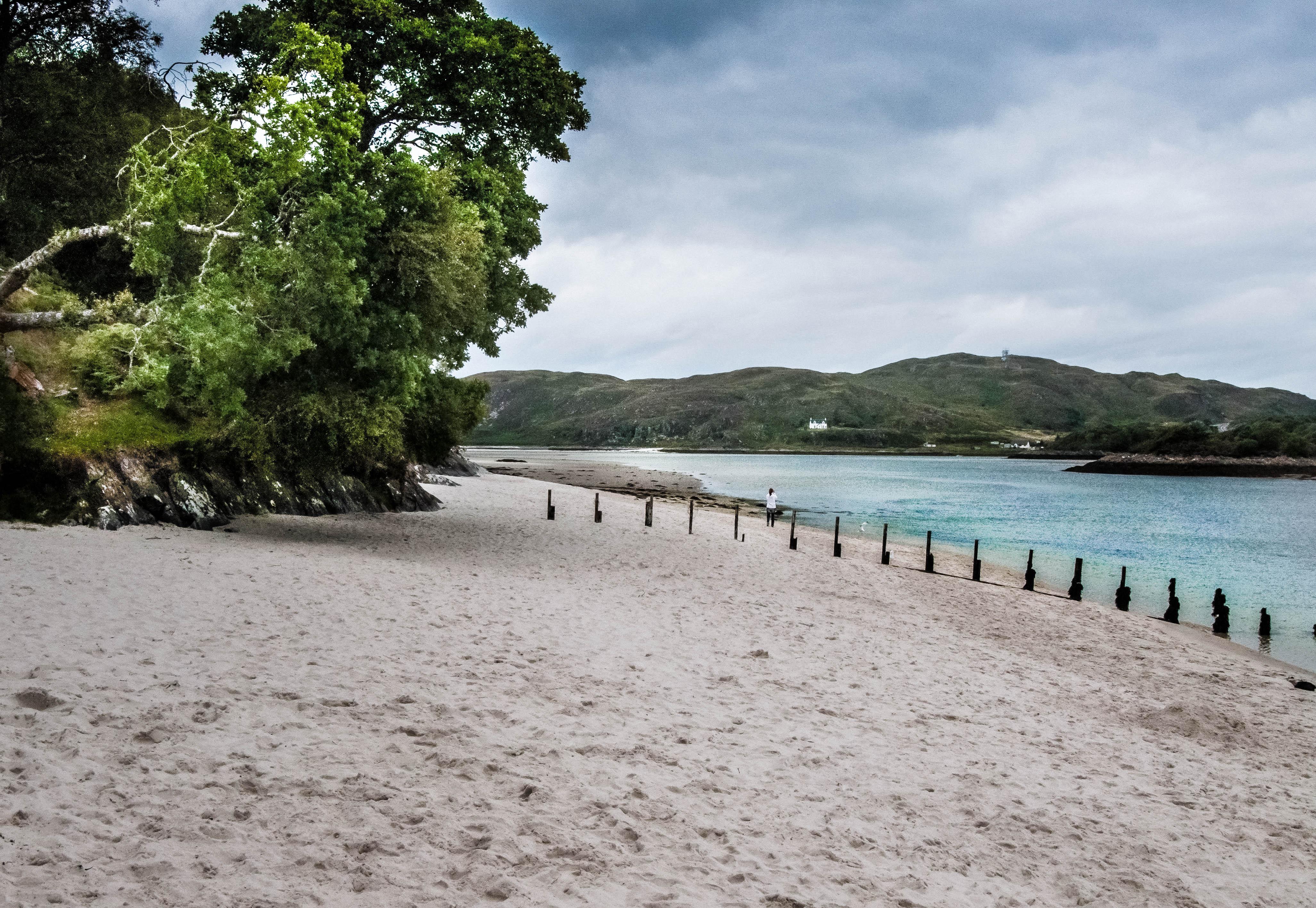 Flickr - Morar Highlands the white sand beach...jpg