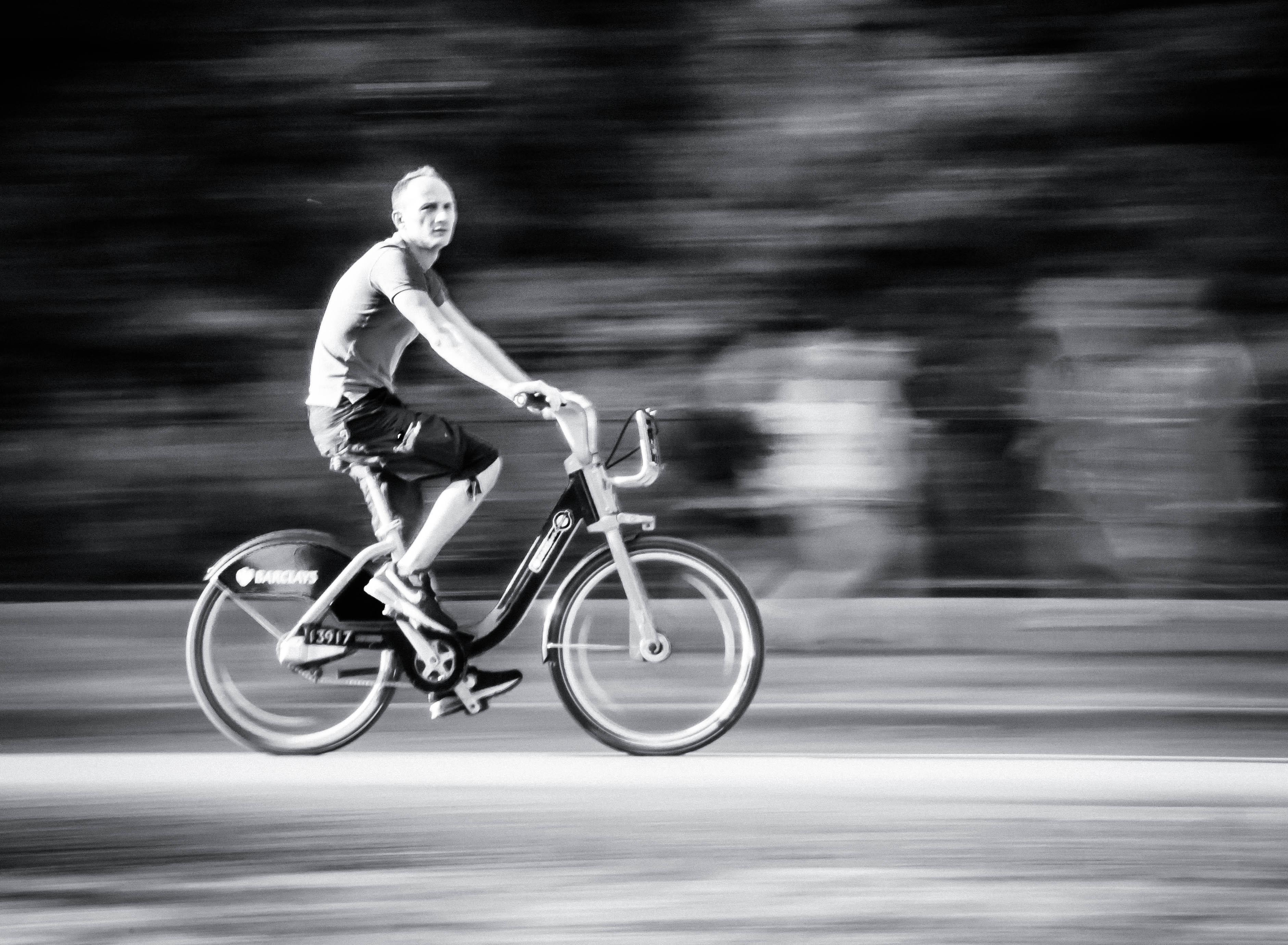Flickr - Biker in Hyde Park