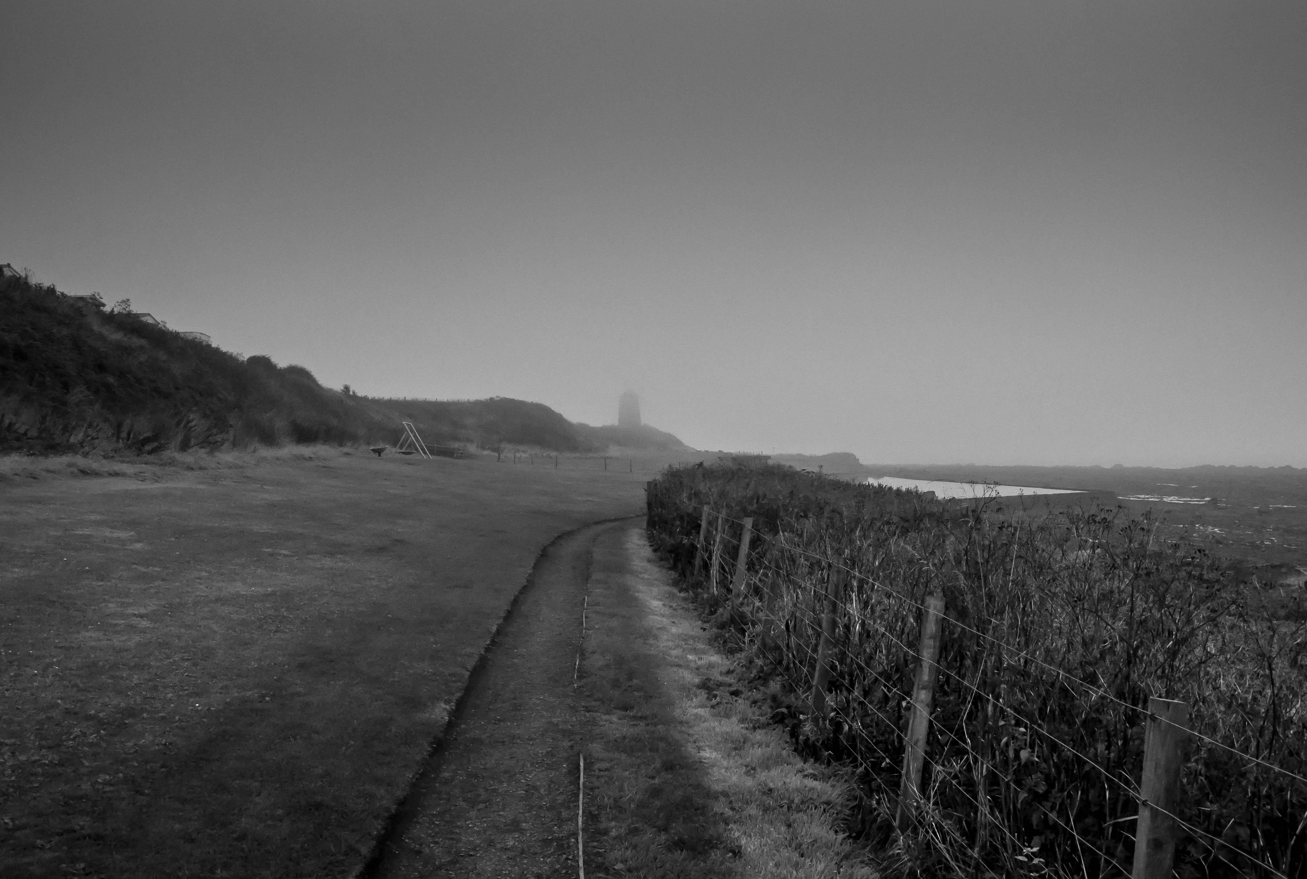 Flickr - Windmill & haze