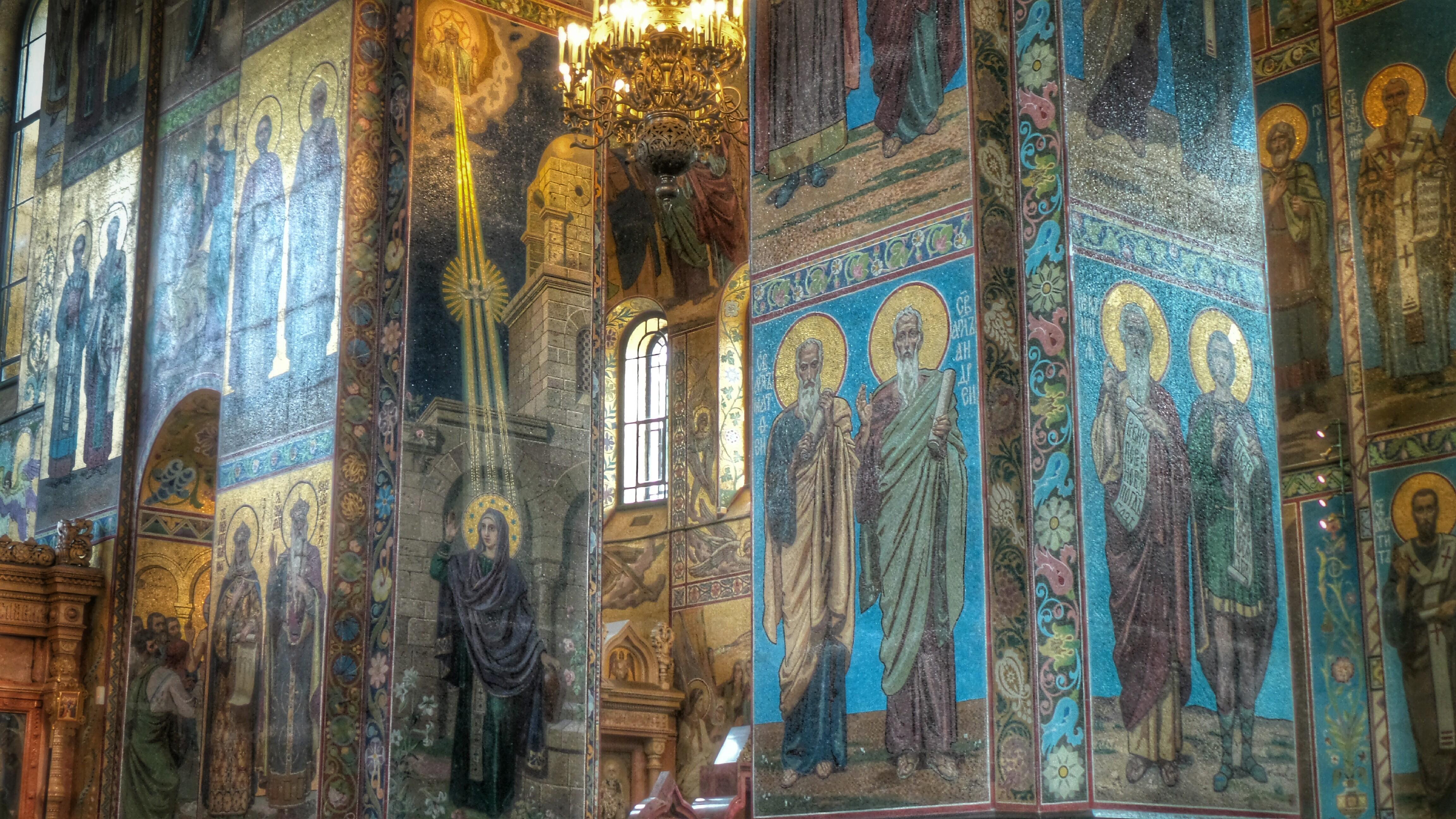 Flickr - St Petersburg, mosaici nella Chiesa del Salvatore sul sangue versato