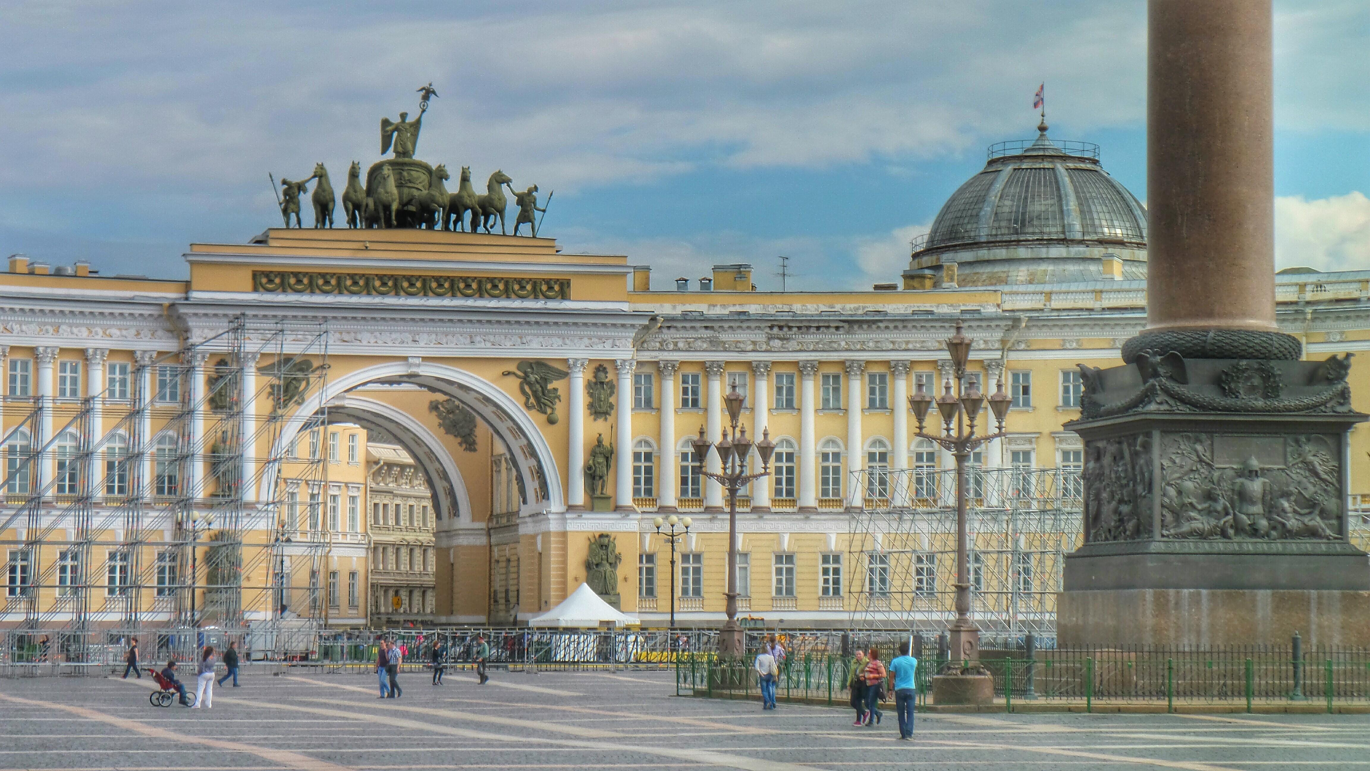 Flickr - Piazza del Palazzo, Sant Petersburg