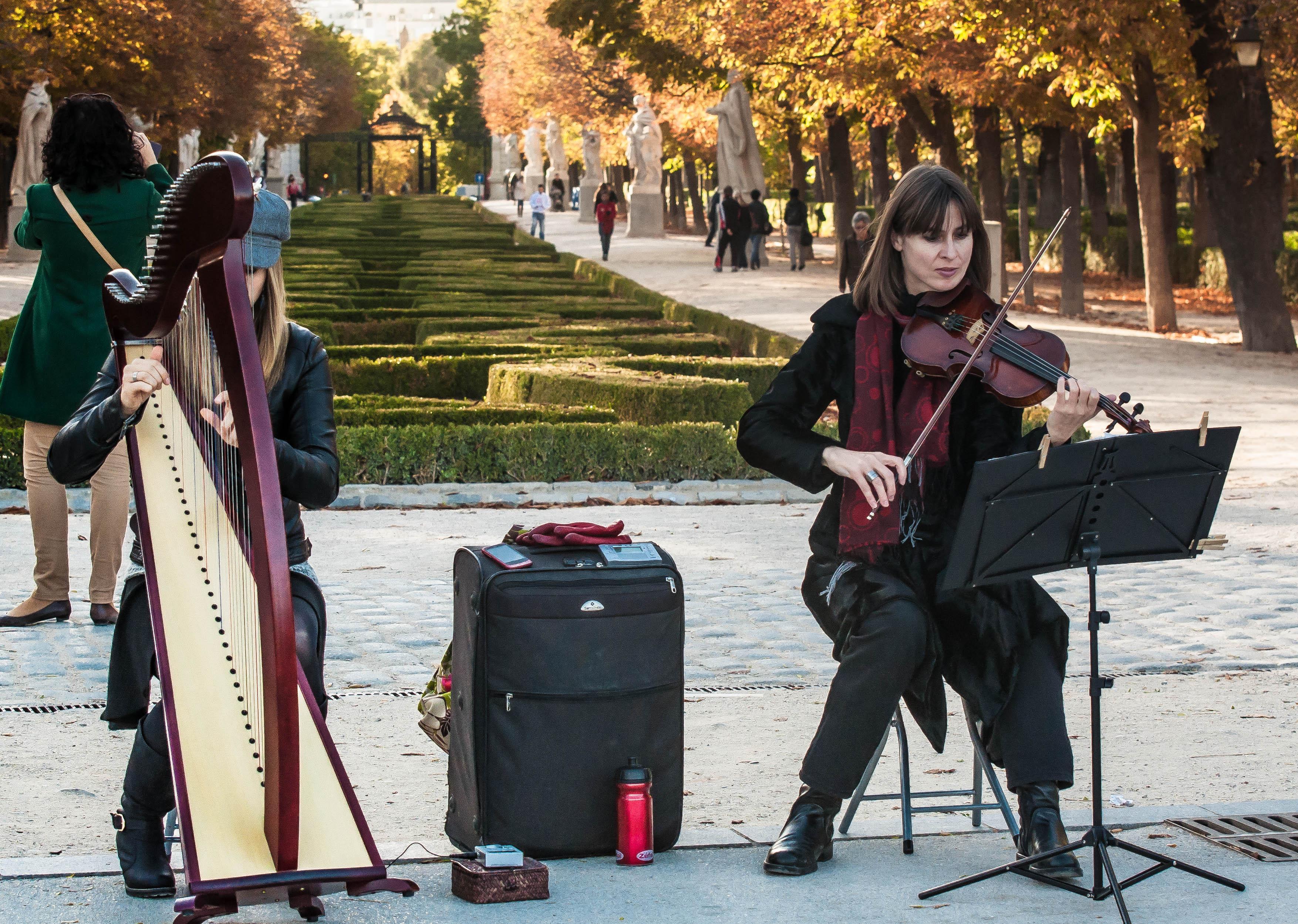 Flickr - Duet in Madrid
