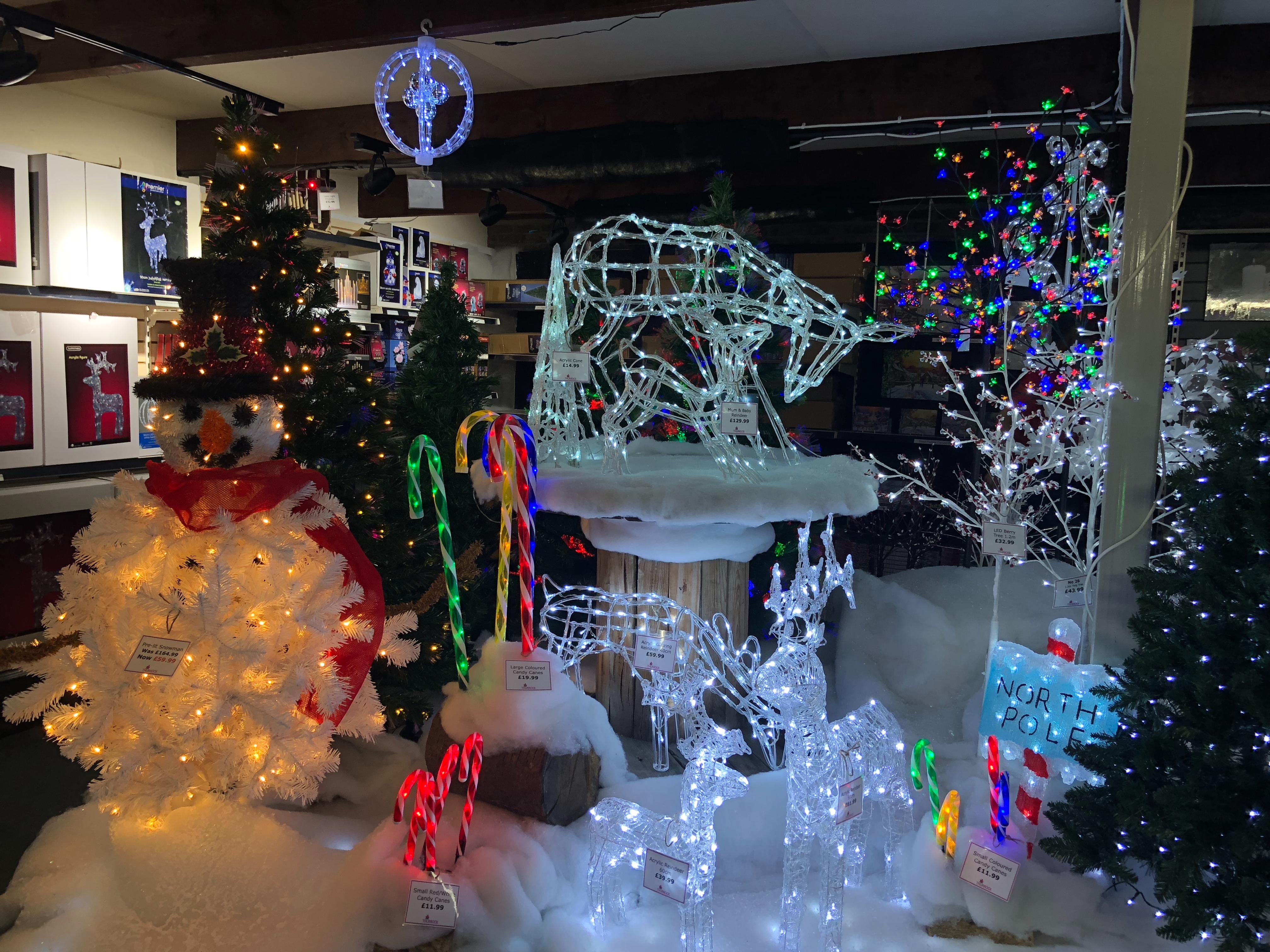 Thurrock Garden Centre Christmas