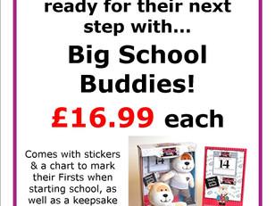 Big School Buddies now in store!