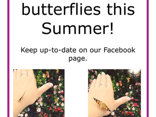 We are growing butterflies this Summer!