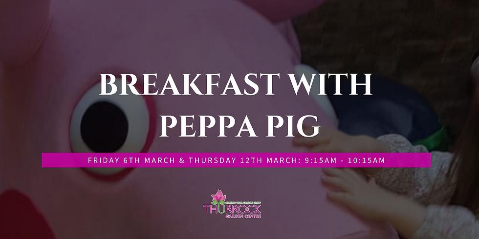 Breakfast with Peppa Pig