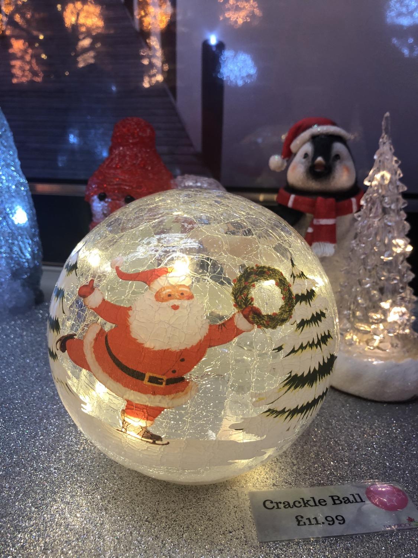 Santa Crackle Ball