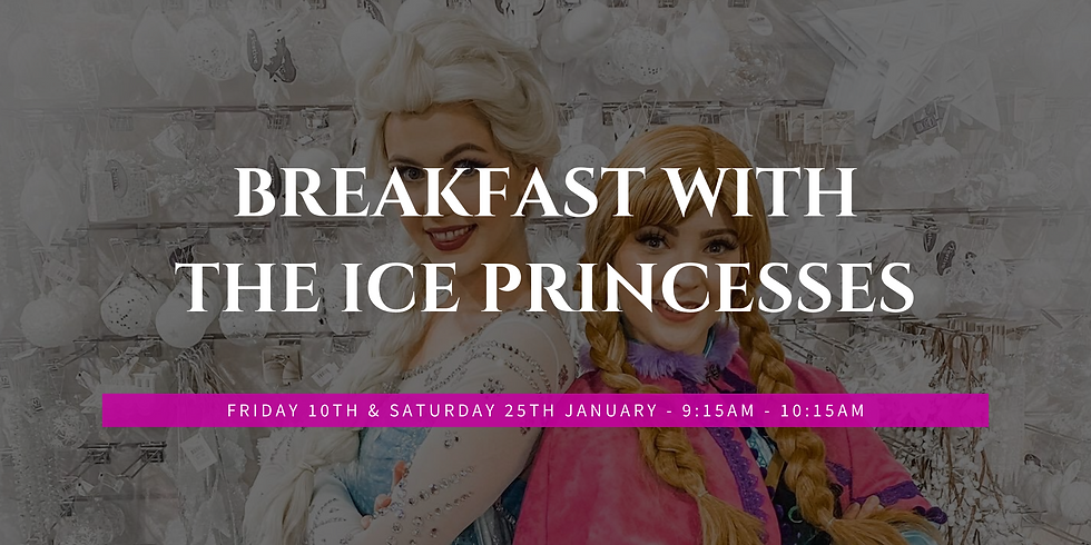 Breakfast with The Ice Princesses