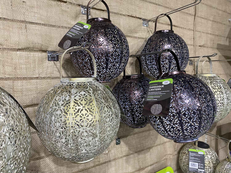 Solar Lanterns - £21.99