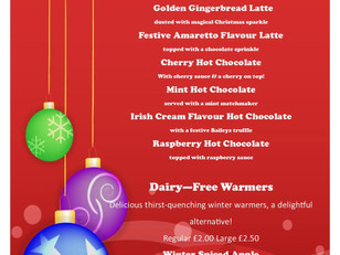 Treat yourself to one of our Woody's Winter Warmers!
