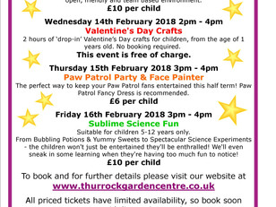 February Half Term Events