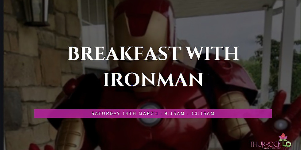 Breakfast with Ironman 14.3.20