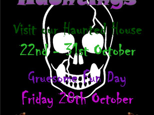 Half Term Hauntings...