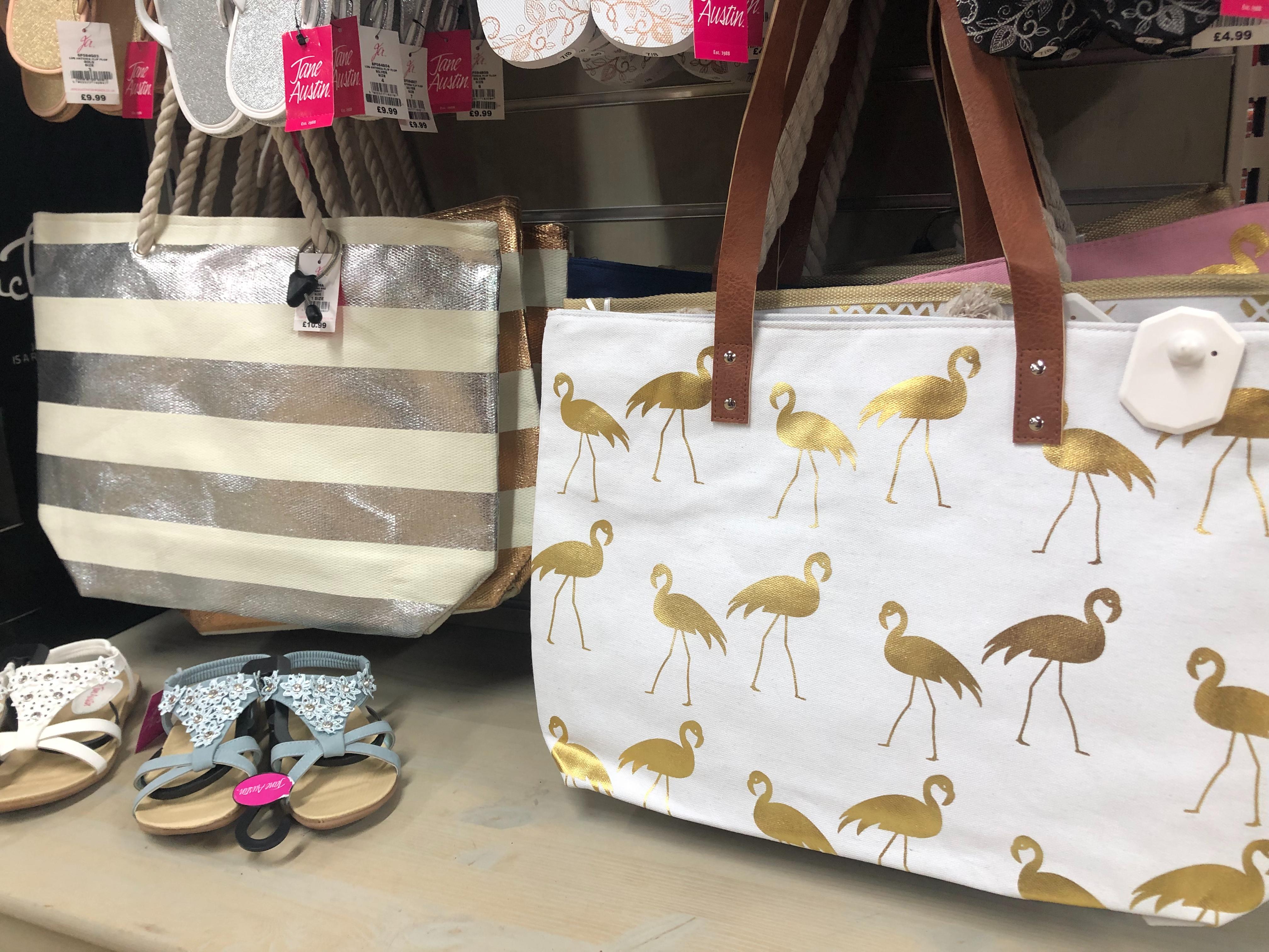 Jane Austin Beach Bags