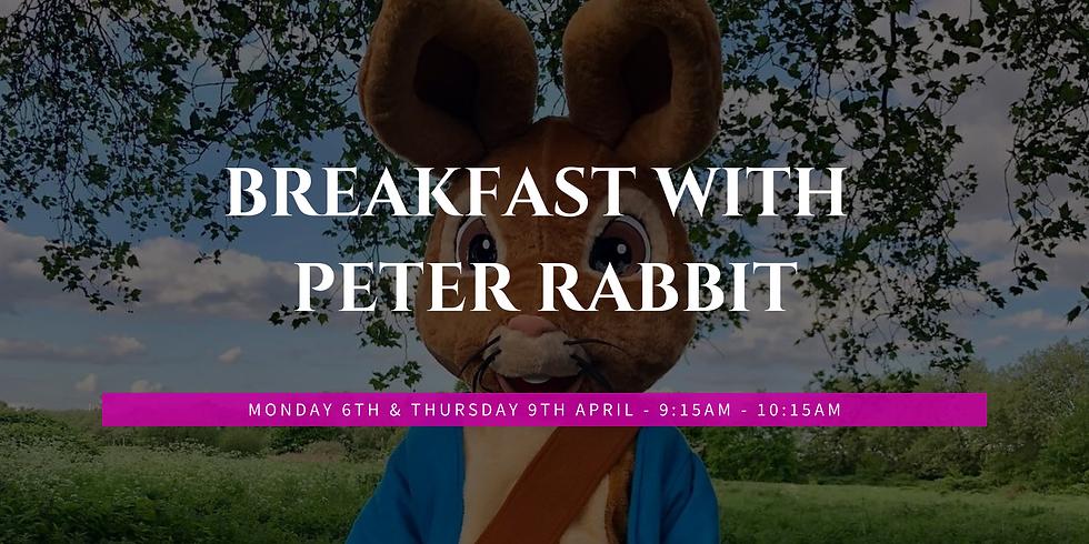Breakfast with Peter Rabbit 6.4
