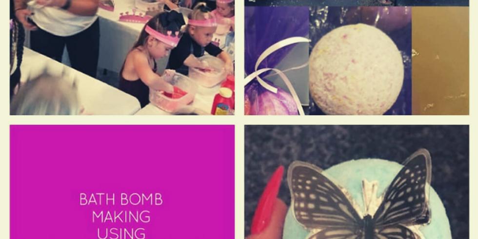 Bath Bomb Making Workshop (3 years +)