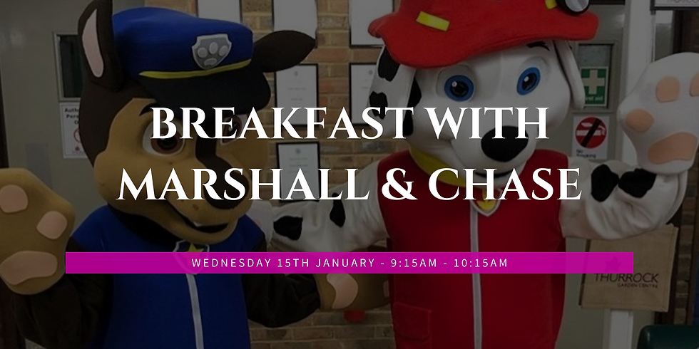 Breakfast with Marshall & Chase