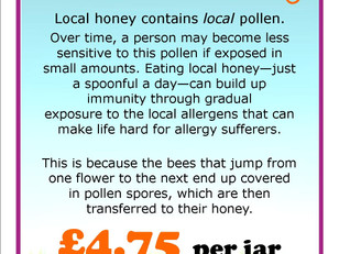 Do you know the benefits of local honey?
