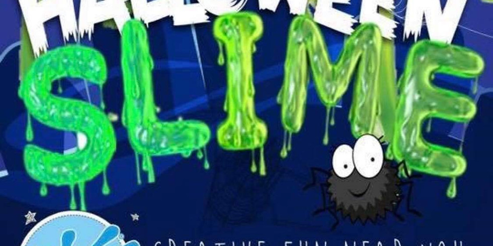 Halloween Slime (4years + ONLY)