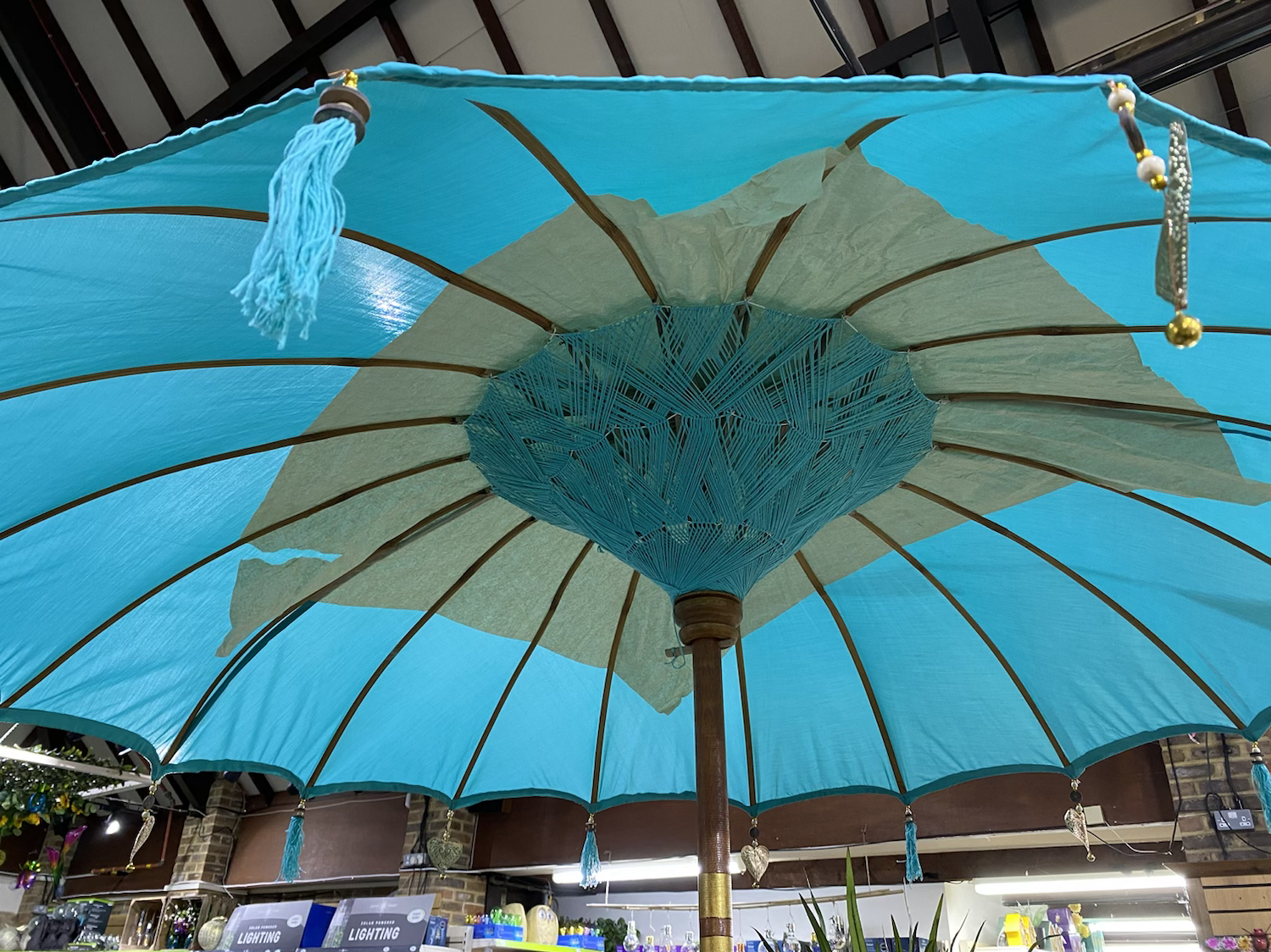 Cotton Decorative Parasol - £135