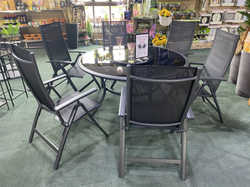 Sorrento 6 Seater Deluxe Set with Lazy Susan- £999