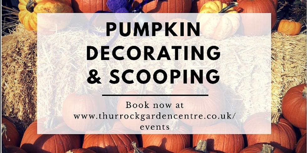 Pumpkin Decorating & Scooping