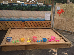 Sandpit is open for the Summer season!