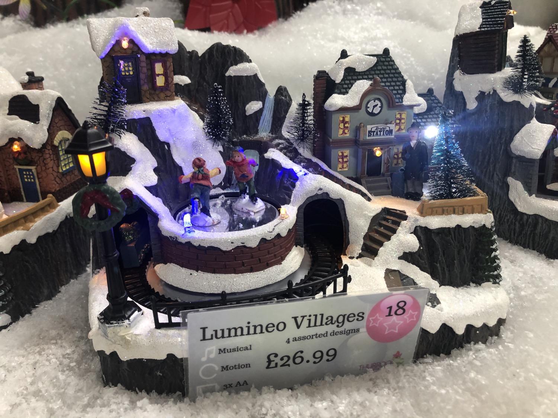 Lumineo Villages - 4 Assorted
