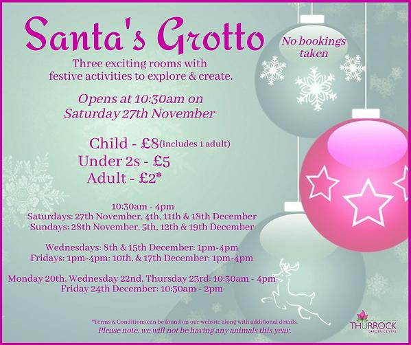 Santa's Grotto 2021