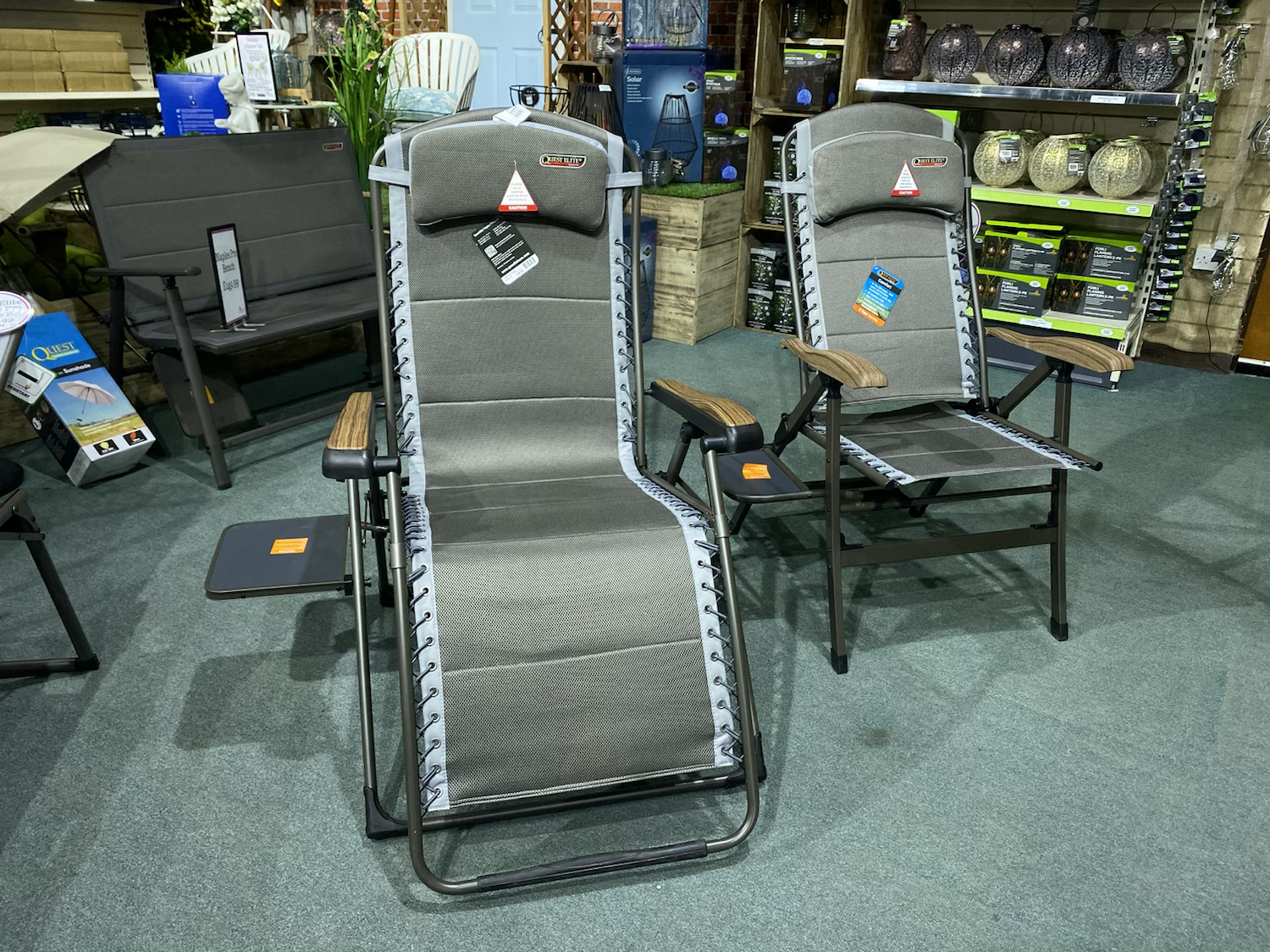 Quest Elite Naples Pro Comfort Gravity Relaxer - £159.99 & Recliner - £119.99
