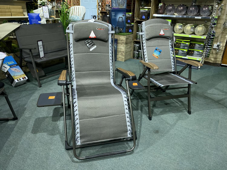 Quest Elite Naples Pro Comfort Gravity Relaxer - £159.99 & Recliner - £119.99