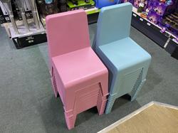 Children's Chairs - Pink & Blue