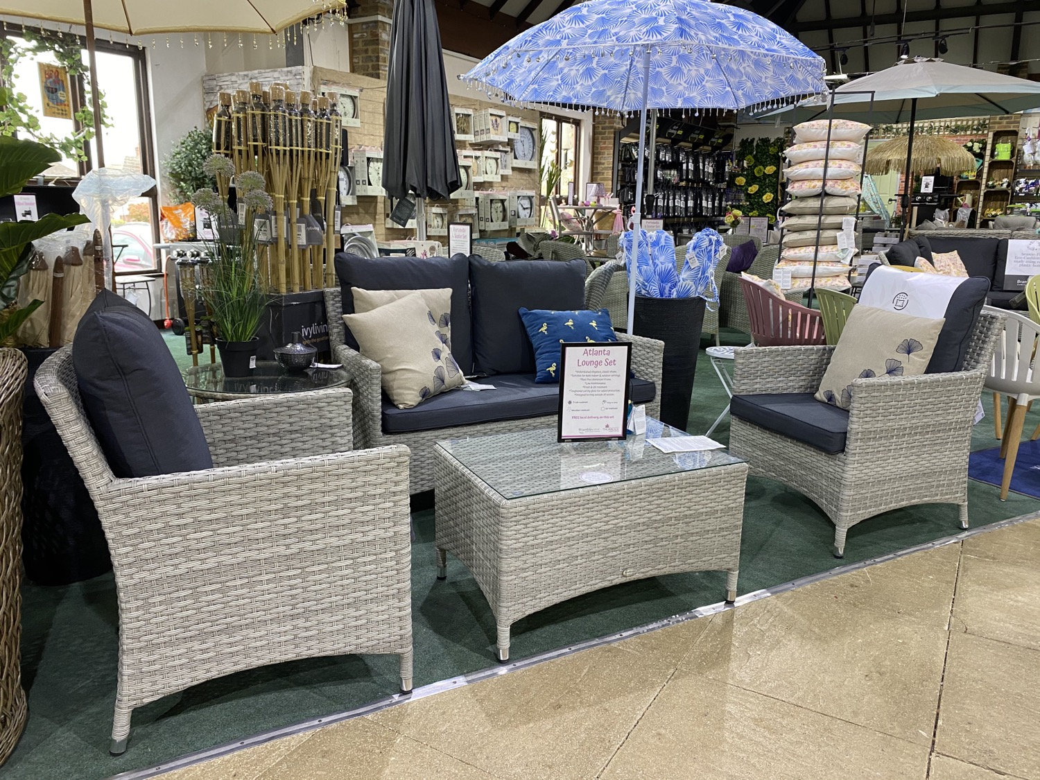 Atlanta Lounge Set - £799