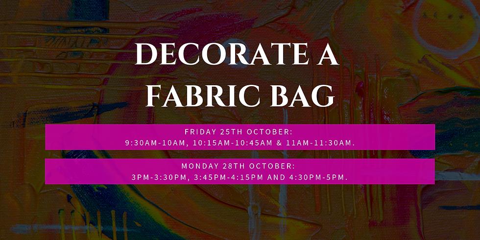Decorate a Fabric Bag
