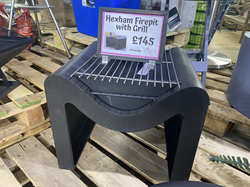 Hexham Firepit with Grill - £145