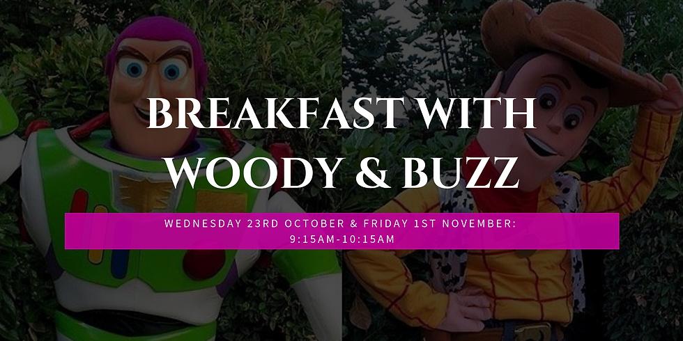 Breakfast with Woody & Buzz