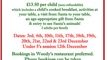 Breakfast with Santa....bookings open soon!