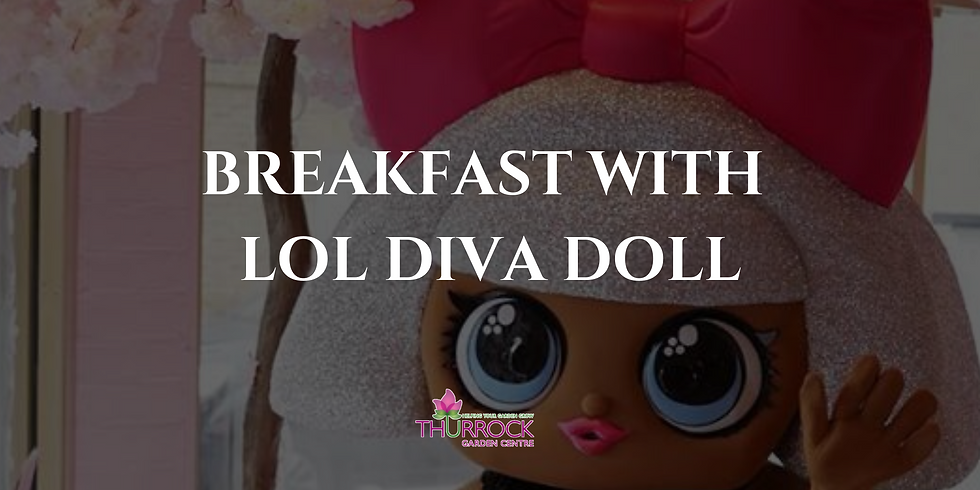 Breakfast with LOL Diva Doll 15.4